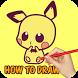 How to Draw Chibi Poke by ArtWall Studio
