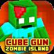 Cube Gun 3D : Zombie Island by Lazy Cat Studios