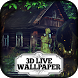 3D Wallpaper - Haunted Mansion by Beautiful 3D Live Wallpapers by Difference Games