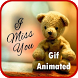 Gif Miss You by Gif Collection Zone