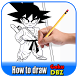 How to draw goku DBZ by AnakMoeslim