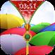 Umbrella Zipper Lock Screen by Epoch Zipper Studio