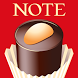 Sticky Notes with Chocolate by peso.apps.pub.arts