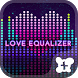 Cool wallpaper-Love Equalizer- by +HOME by Ateam