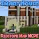 Map MCPE Redstone Smart House by GreenxApps