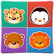 Animals memory game for kids 2 by Owlet games for kids