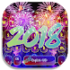 New Year 2018 keyboard Theme by HD Theme launcher Creator