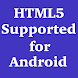 HTML5 Supported for Android by The4D