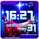Cool Weather Clock Widget by Customize My Phone