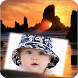 Sunset Photo Frame by Lock Apps