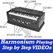 How to Learn Play Easy Harmonium VIDEO App