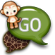 GO SMS - Safari by SCSCreations