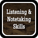 Listening And Note Taking Skills