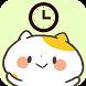 Clocks Widget Kansai Cats by peso.apps.pub.arts