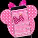 Pink Diamond Minny Bowknot Theme by Lele Theme Studio