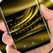 Gold Keyboard Luxury Silk Golden Light by Super Hot Themes Design Studio