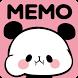Sticky Notes Mochimochi Panda by peso.apps.pub.arts