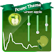 Green apple Poweramp Skin by Best skin for com.maxmpz.audioplayer.skin