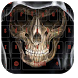 Gothic Skull Bone Keyboard by live wallpaper collection