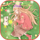 Cartoon Anime Cute Girl by Cool Launcher Theme