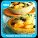 Adorable Melon-Filled Citrus Bowls