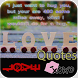 Love Quotes : Photo Creator by Status Mall