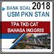 Bank Soal USM PKN STAN 2018 TPA TKD CAT B. Inggris by AVFDC Studio