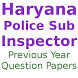 Previous Year Haryana Police Questions Papers
