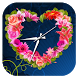Rose Clock Live Wallpaper by App Life Studio