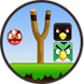 knock down angry birds by free free