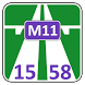 M11 15–58 Fare calculator