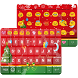 Merry Christmas Emoji Keyboard by Colorful Design