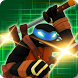 Turtles and Ninja fight Alien by Turltes Inc