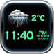 Night Clock Weather Widget by SCHACH Apps and Games