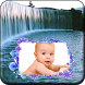 Waterfall Photo Frame by Lock Apps