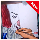 draw pennywise by htcdev