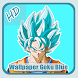 Top Wallpaper HD Goku Blue by HastaDroid
