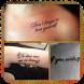 Frases Para Tatuarse Cortas by Mariorod Apps