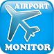 Airport Monitor Free by Shoreline Animation