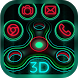 Neon Shiny Fidget Spinner Theme by Elegant Theme