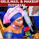Gele, Makeup & Nail fix Tutorial by 24Studio