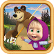 Masha and the Bear: Kids Fishing by Hippo Kids Games
