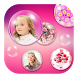 Pink Bubble Live Wallpaper by Girly Apps