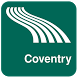 Coventry Map offline by iniCall.com