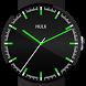 Neon Watch Face Hulk Glow by www.iFace.watch