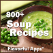 800+ Soup Recipes | No Ads by FlavorfulApps.com