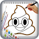 How to Draw the Poop Emoji by Learn Draw