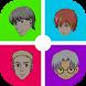 Cartoon Face Anime - Emoji by Keli