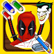 How To Draw Super Heros by Crazy Draw