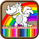 The Dragon Coloring Book by POP APP DEV
